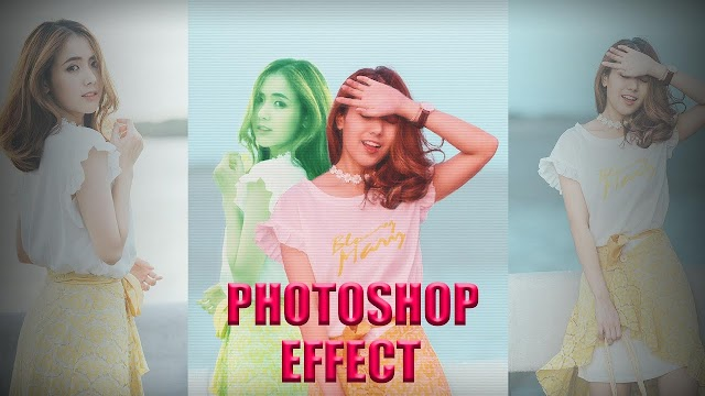 Double Color Exposure Effect Photoshop Free PSD Download | Okay Bhargav