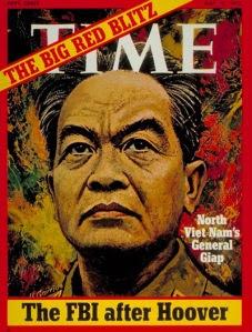 Hình minh hoạ tướng Giáp trên bìa tạp chí Time, ngày 15/5/1972