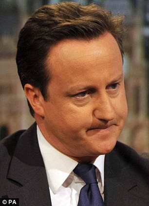 Asking difficult questions: Prime Minister David Cameron wants answers from Pakistan