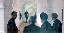Khatami's entourage