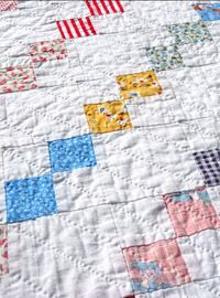 One Patch Chain - Vintage Quilt