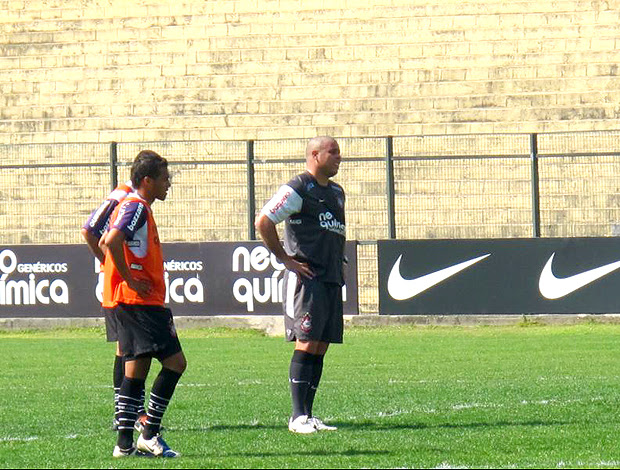 ronaldo corinthians treino