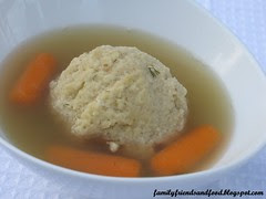 Monster Matzo Ball Soup