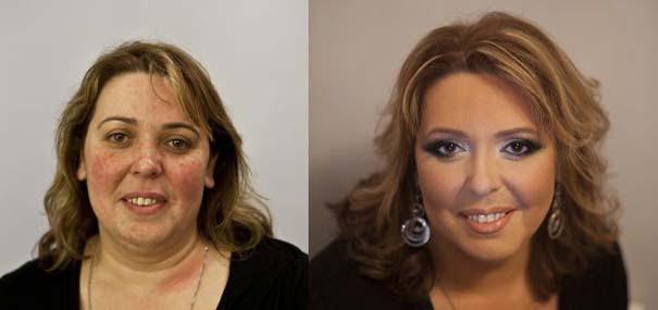 Γυναίκες με / χωρίς μακιγιάζ (20)
