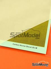 Calcas  Hobby Design - Fibra de kevlar con trama de tamaño mediano