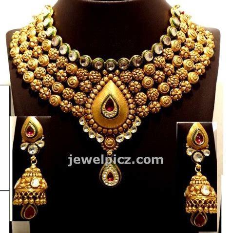 Gitanjali jewellers Gold Necklace models   Latest