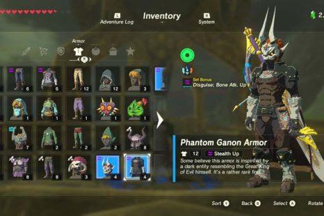 Zelda Breath Of The Wild Clothes Upgrade Clothes News