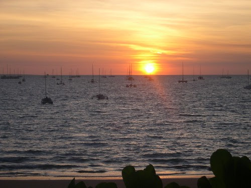 Sunset Darwin Sailing Club