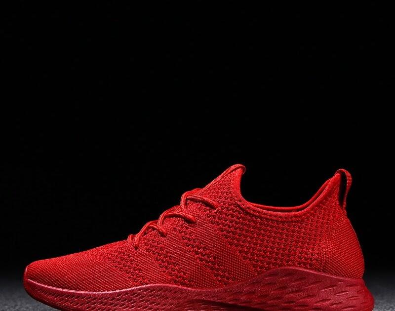 128ca4f0f8e1 Купить Обувь для мужчин лето 2018 г. Новый Мужские дышащие Сникеры Мужская  обувь взрослых красный черный серый высокое качество Удобная нескольз.