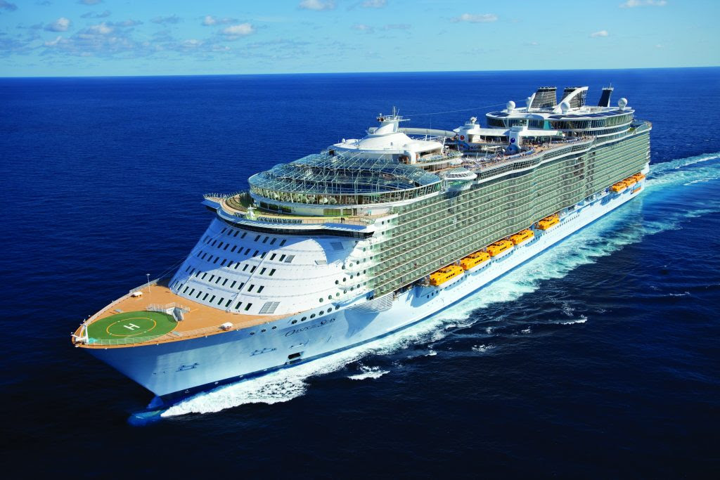 15 Most Expensive Cruise Ships In The World | #3. Oasis of the Seas ($1.3 billion)