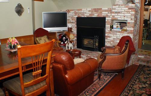 TV Room on the Garden Level