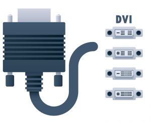 connecting a laptop to a tv  dvi