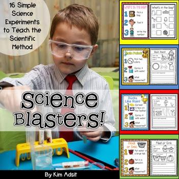 Science Blasters by Kim Adsit