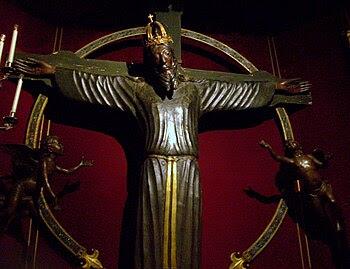 Català: Volto Santo, catedral de Lucca.