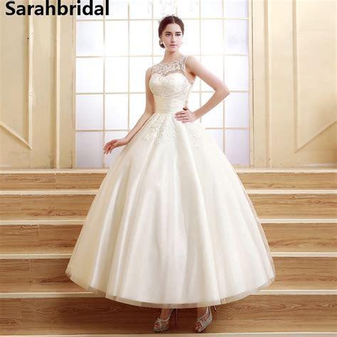 Ivory Short Wedding Dresses 2017 Cheap Real Photo Jewle