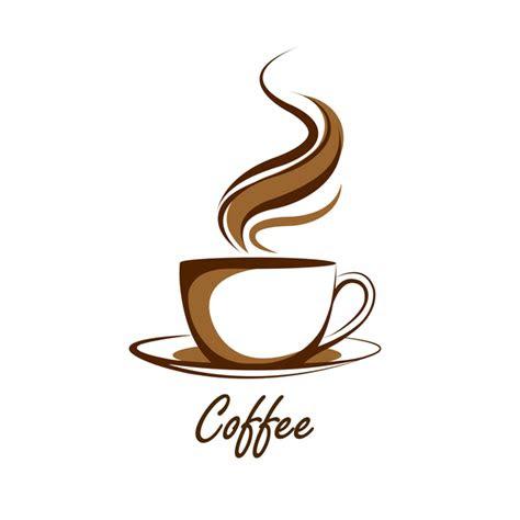 hand drawn coffee logos design vector set