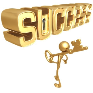 secret du succès, clé du succès, atteindre le succès financier