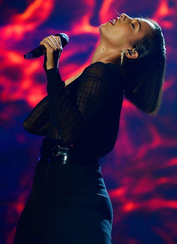2012 MTV EMAs, Alicia Keys