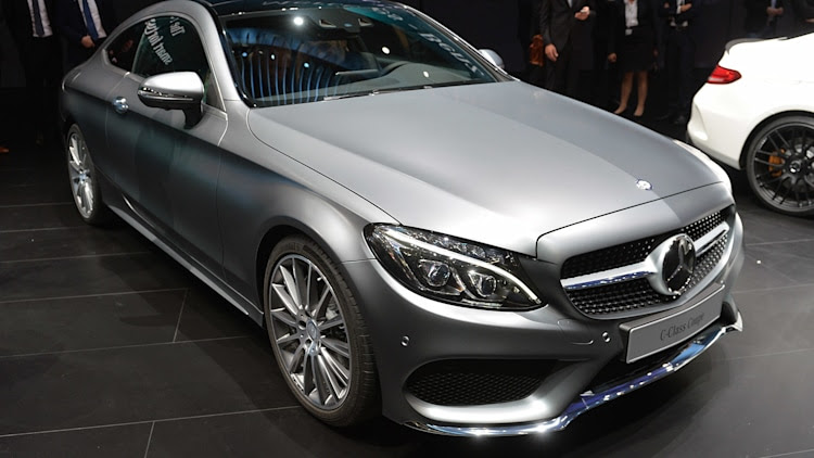 2016 Mercedes-Benz C-Class Coupe: Frankfurt 2015 Photo Gallery ...