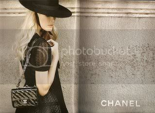 fashion ads,spring 2010,chanel