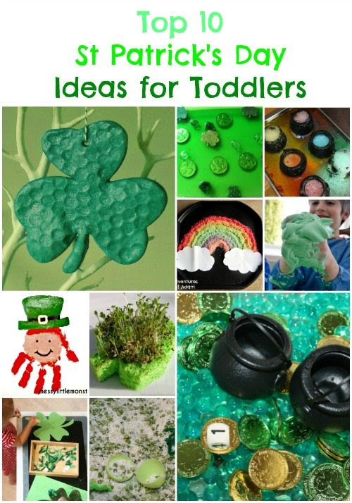 Top 10 St Patricks Day Ideas For Toddlers