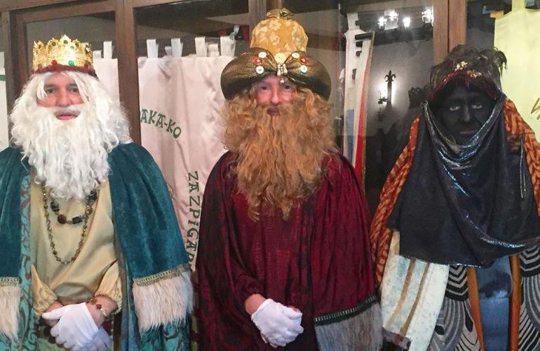 La comarca del Bidasoa preparada para recibir a los Reyes Magos