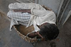 Sleep in a Basket by firoze shakir photographerno1