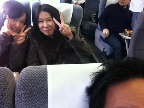 Arisa, Yuiko, and my head
