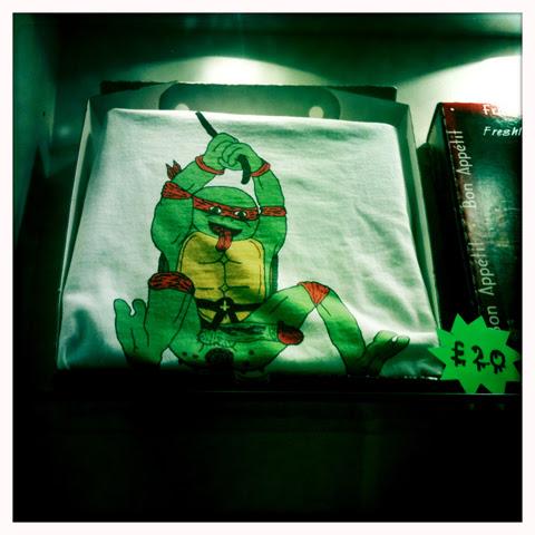 James Unsworth ninja tshirt