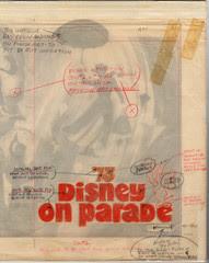 Disney On Parade - 1973 Souvenir Program - overlay
