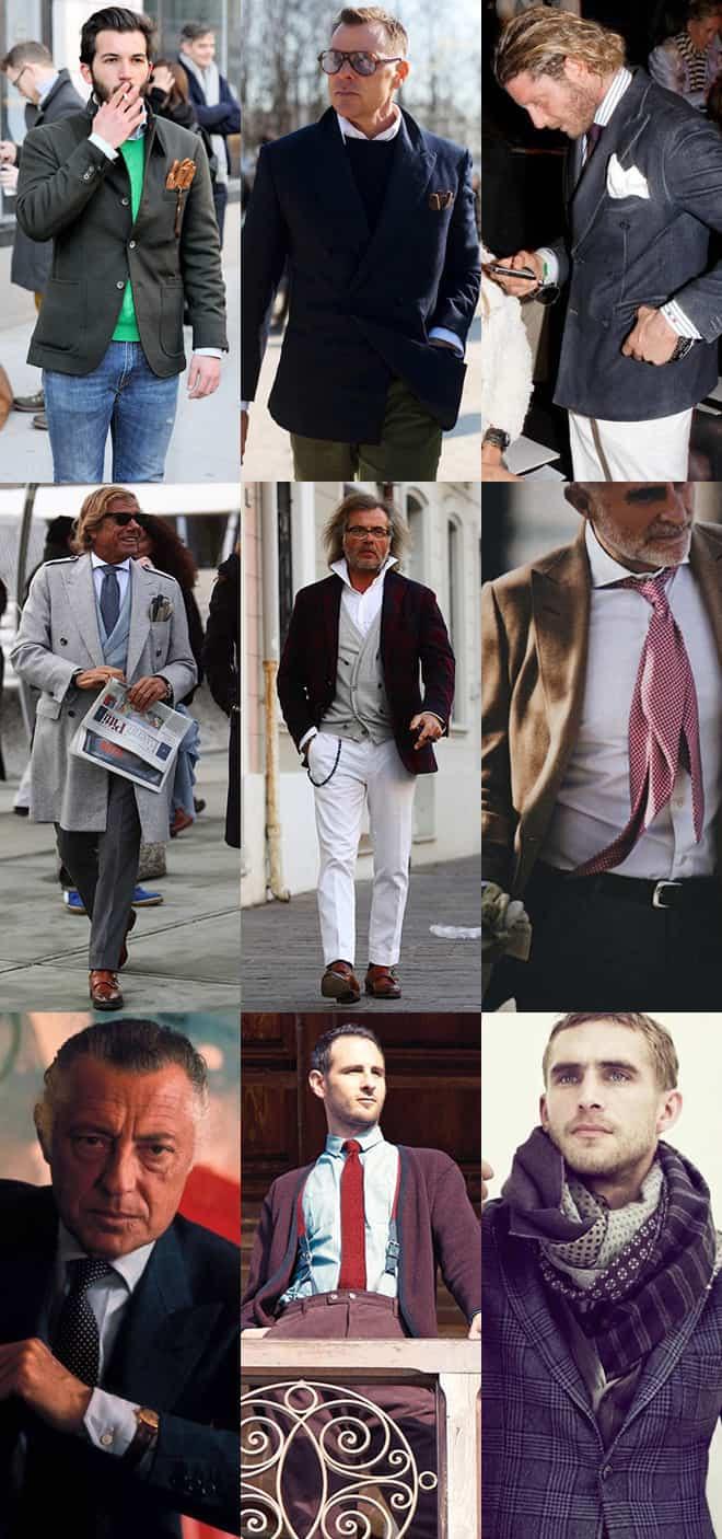 Men's Sprezzatura Fashion Lookbook