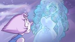 A series of Steven Universe screenshot redraws