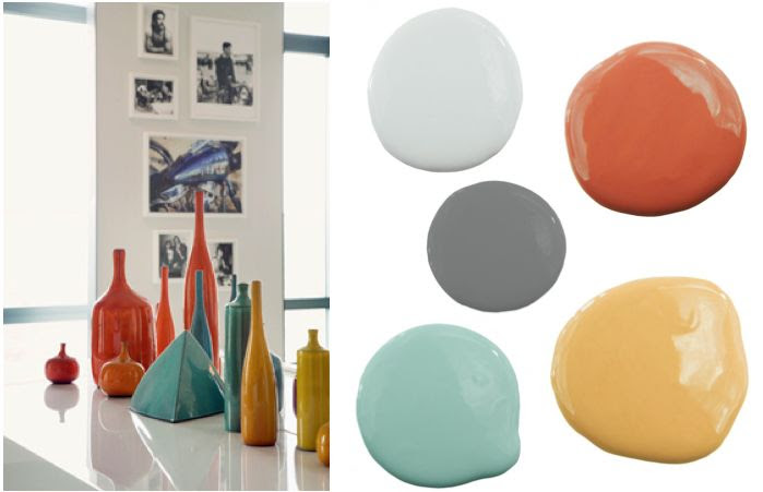 retro color palette - time to redecorate the office ...again?