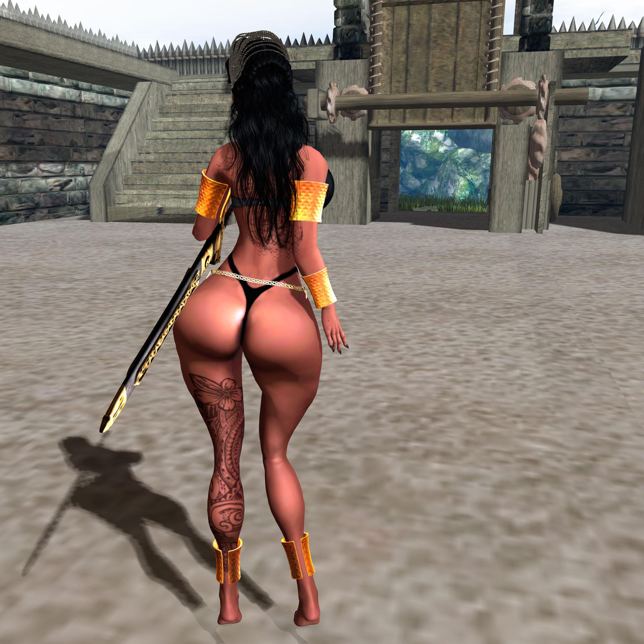 That butt...