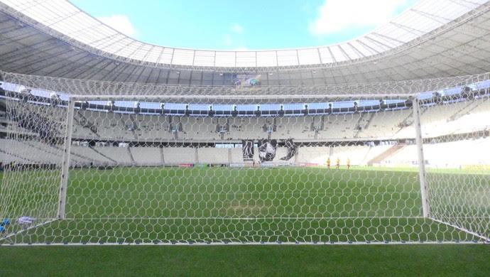 Ceará x Maranguape Campeonato Cearense Arena Castelão (Foto: Eduardo Trovão/TV Verdes Mares)
