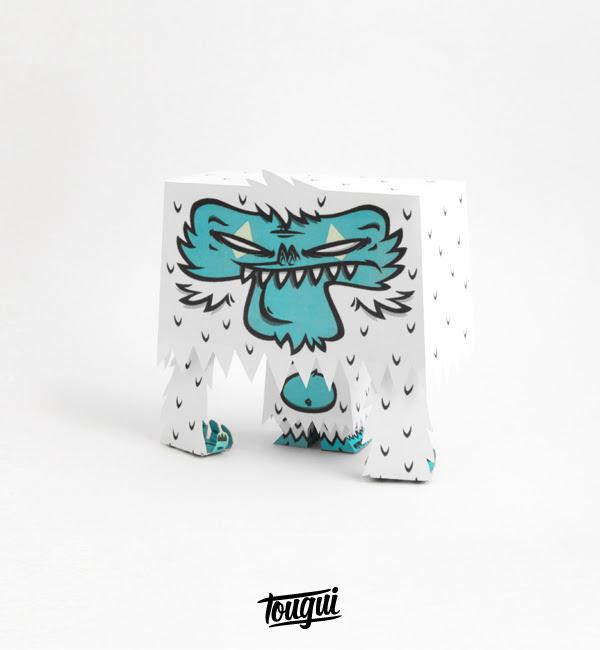 Yeti Paper Toy v2