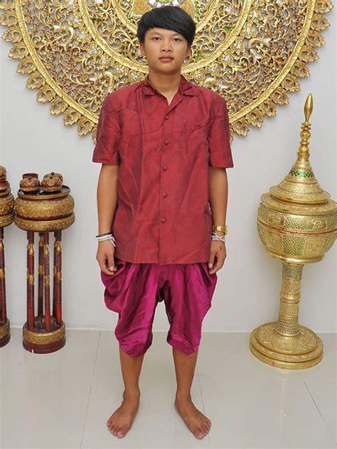 Male Thai Costume : Loincloth Page 004 : Wedding Ceremony