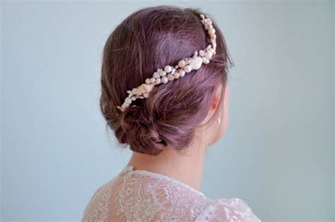 Seashell Headpiece, Beach Wedding Hair Accessories, Bridal