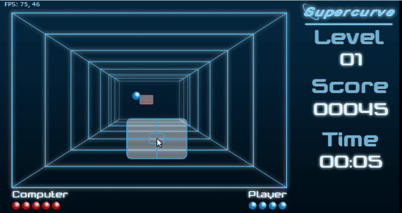 Super Curve HTML5 Game