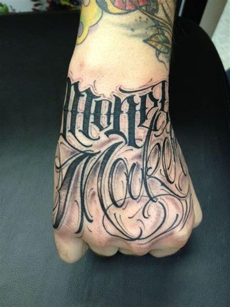 big meas lettering tattoo tattoo lettering tattoo
