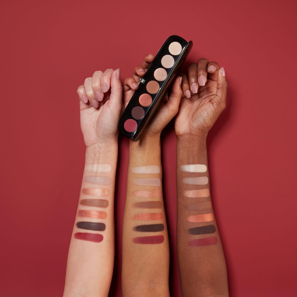 Marc Jacobs Scandalust Eye-Conic Eyeshadow Palette Swatches