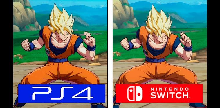 Dragon Ball Z Fighterz Switch Vs Ps4