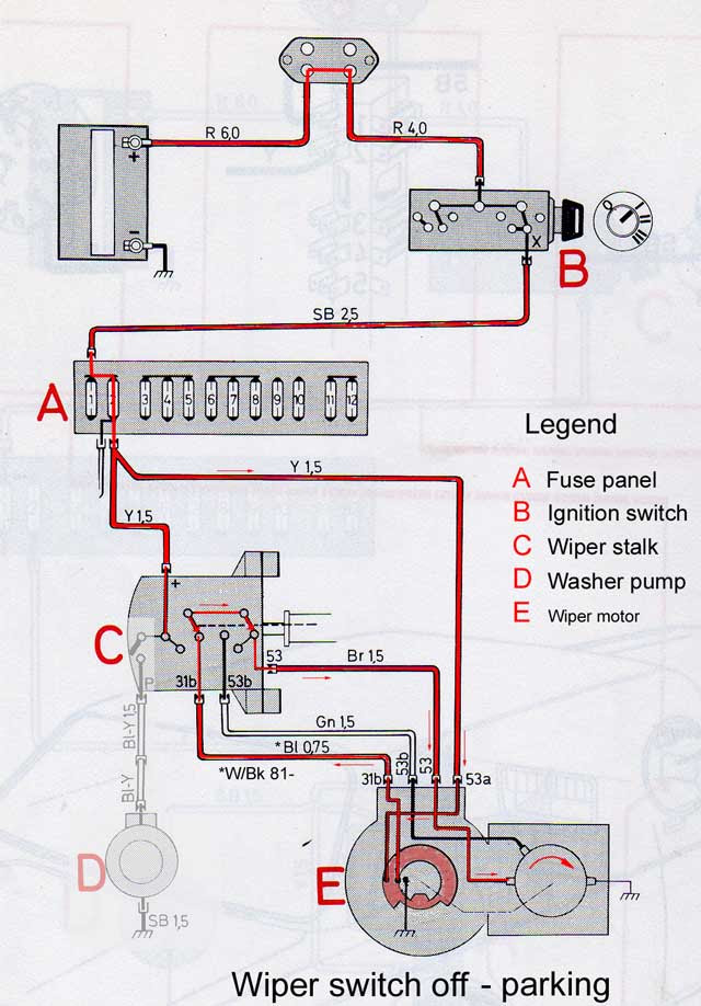 vw windshield wiper switch wiring diagram image 2