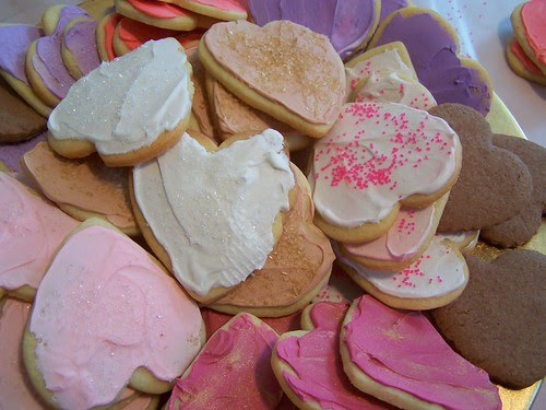 cookies for St. Valentine's Day