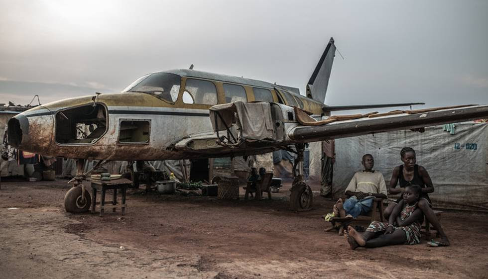 El campo de desplazados de M'Poko se había convertido en un icono de la crisis centroafricana.