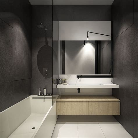 tips   arranged modern small bathroom