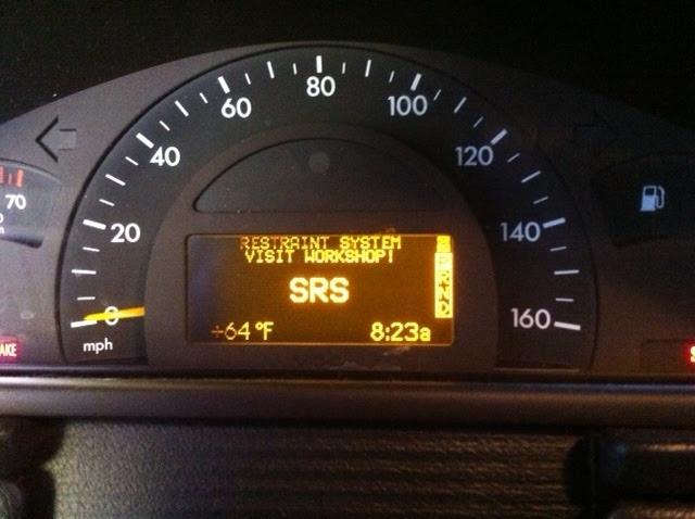 Mercedes s500 srs light