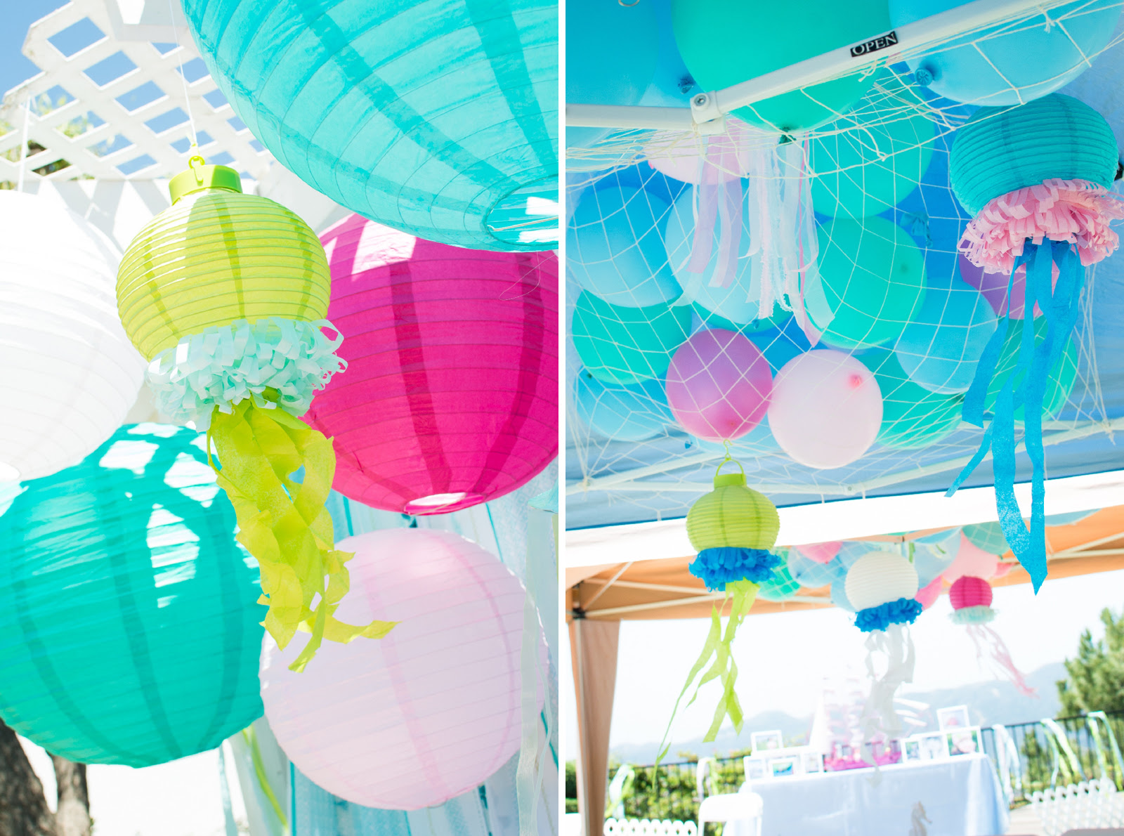 Under The Sea Decorations Ideas Mermaid Party