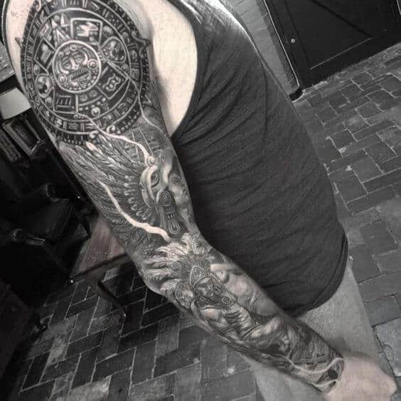 Arm Tattoos For Men Mexican Best Tattoo Ideas