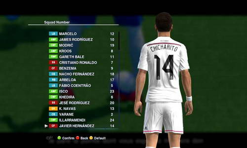 PES 2013 Option File Update 01.09.14 Sun Patch by madn11 Ketuban Jiwa